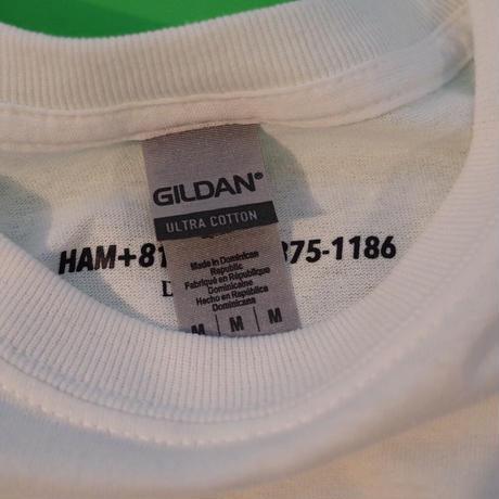 """HAM"" Printed Tee"