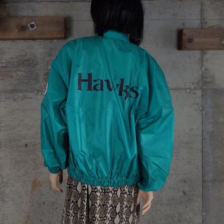 """""""福岡ダイエーホークス"""" Vintage Designed Nylon Jacket"""