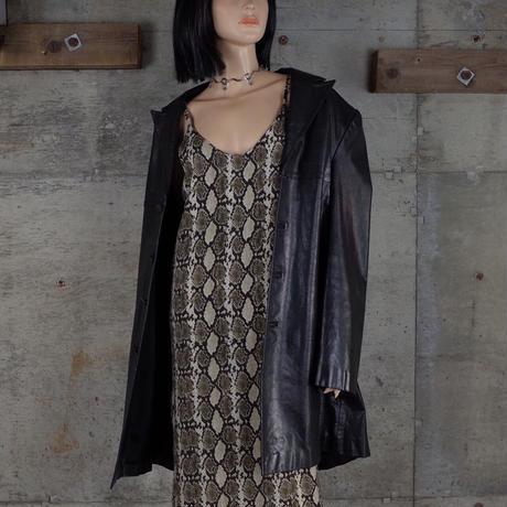 Vintage Designed Leather Coat