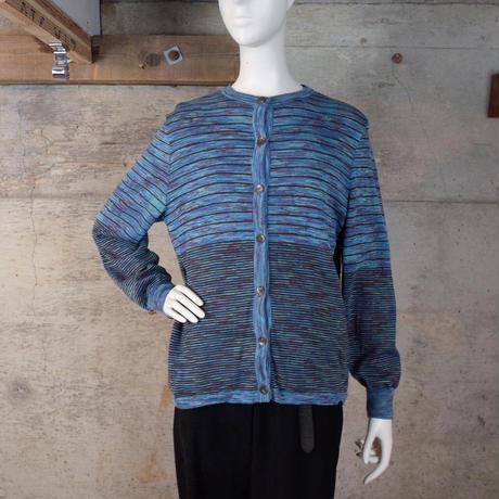 Designed Wool Knit Cardigan
