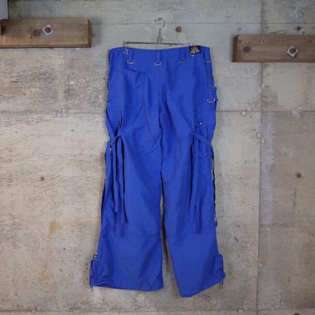 """ILLIG"" Designed Cargo Flare Pants"