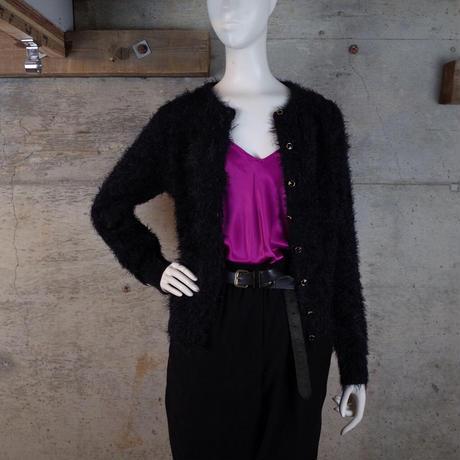 Vintage Shaggy Knit Cardigan
