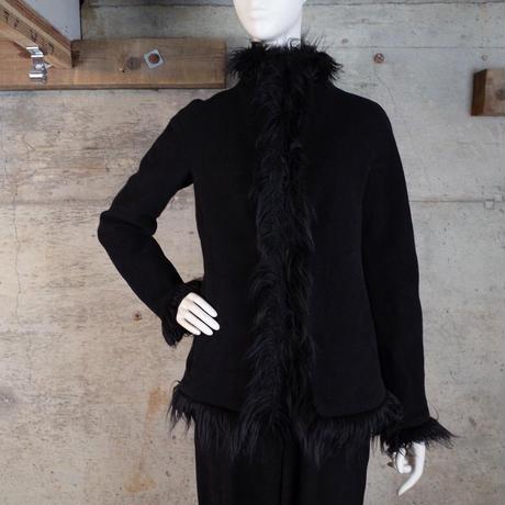 Designed Angora Fur Jacket