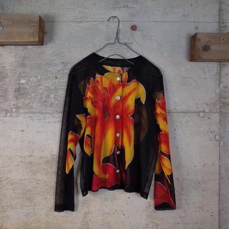 Designed Sheer Jacket