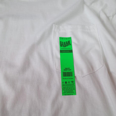 """""""HAM"""" L/S Original Pocket Tee"""