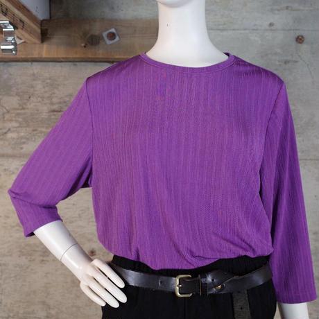 Vintage Designed Poly Top