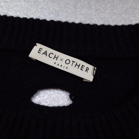 """EACH×OTHER"" Designed Merino Wool Knit"