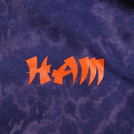 HAM Official Reboot Bleach Out Hoodie