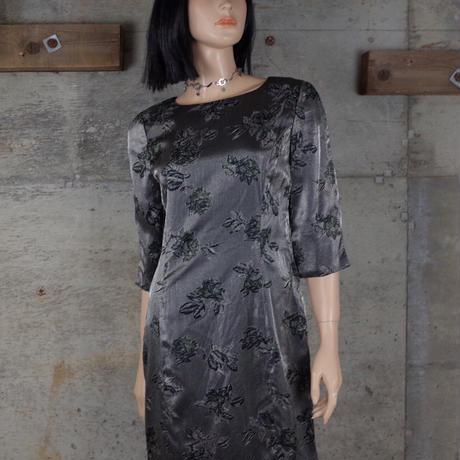 Vintage Designed Shiny Dress
