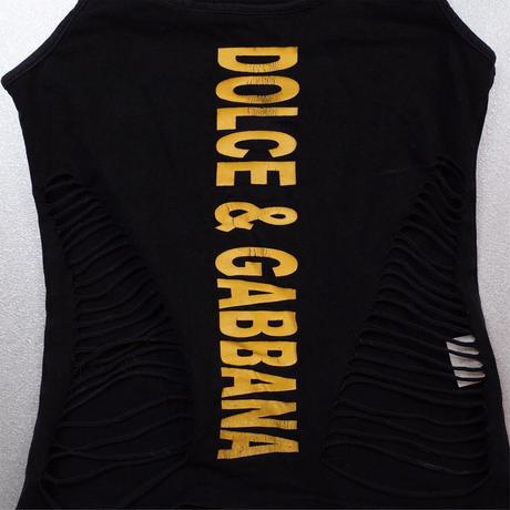 """""""Dolce & Gabbana"""" Vintage Designed Tank Top"""