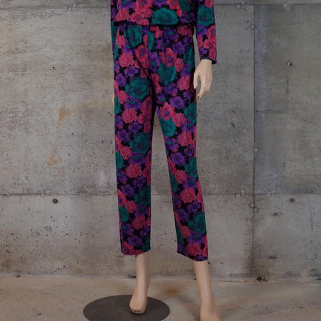 Vintage Designed Rayon Tops & Pants Co-ords