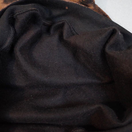 """HAM"" Original Bleach Out Sweat Hoodie #Black[在庫が無くなり次第終了]"