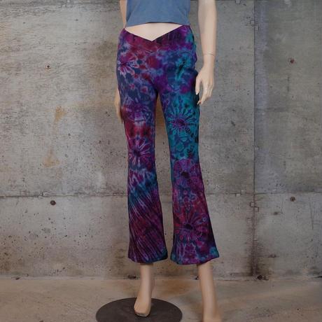 Vintage Tie Dye Flare Pants