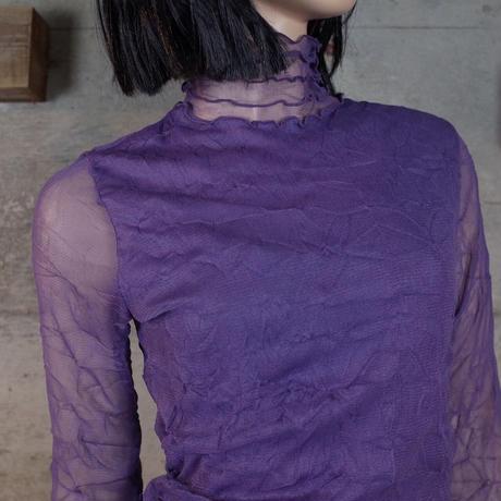 Vintage Designed Sheer Top