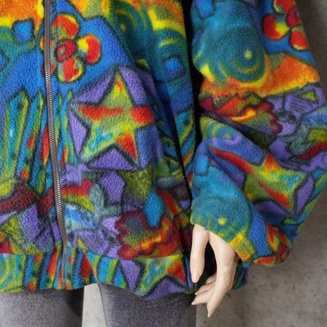 Vintage Designed Fleece Jacket