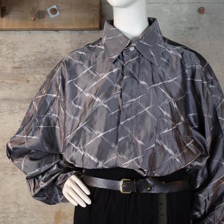 """GIANNI VERSACE"" Vintage Designed Shiny Rayon Shirt"