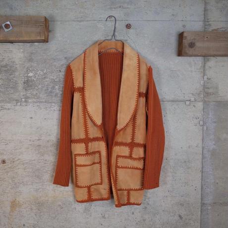 Vintage Designed Suede Leather Jacket