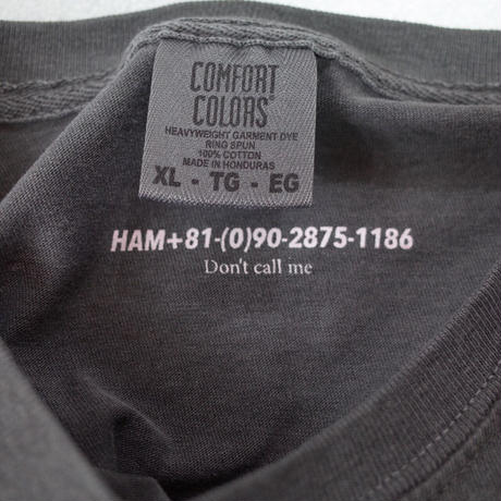 """HAM"" L/S Original Tee #Comfort Colors"