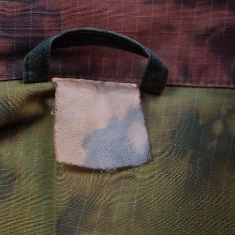 Vintage Over Dyed & Bleach Out Camo Shirt