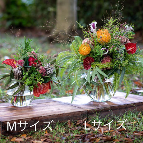 フローリストからの季節の便り  /  M【定期便】