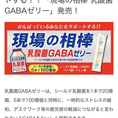 現場の相棒「乳酸菌GABA」ゼリー (GAKU salon ナゴヤ・アップデーターズ )