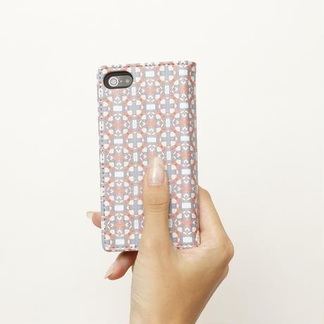 手帳型スマホケース coral(iphone5S/SE)