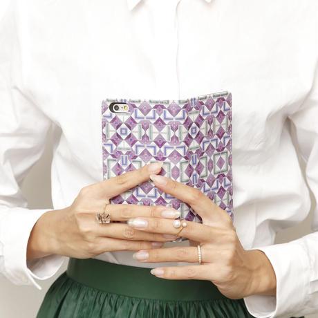 手帳型スマホケース indigo