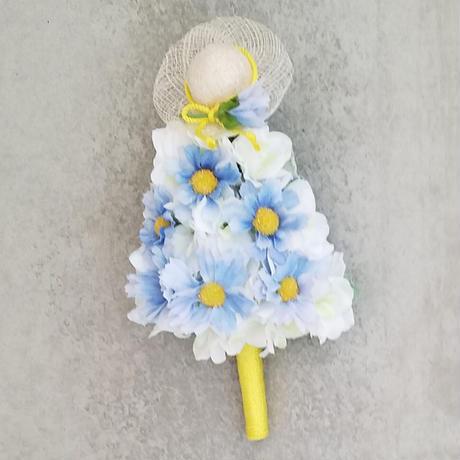 【スカビオサの妖精:ホワイト】
