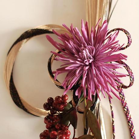 お正月飾り(purple)2020