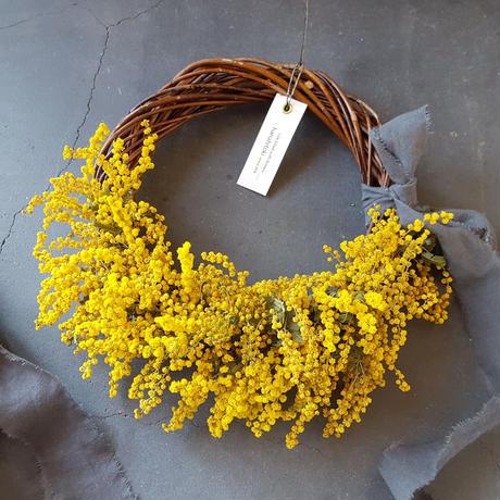 【残1点】ミモザのハーフリース/spring