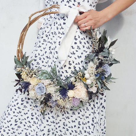 【オーダー】wreath bouquet&boutonniere#ウルーズ