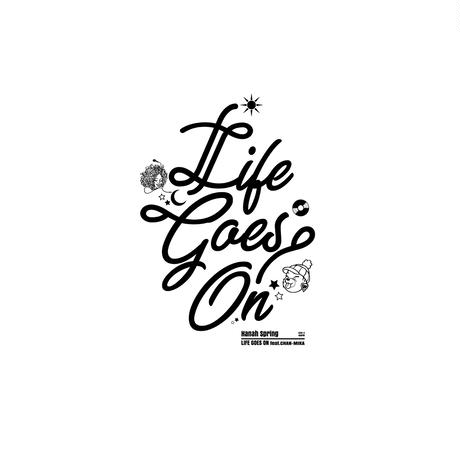 SideA: LIFE GOES ON Tee(Big size silhouette)
