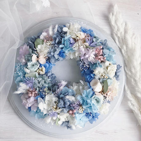 gift wreath ( full type  φ19cm)