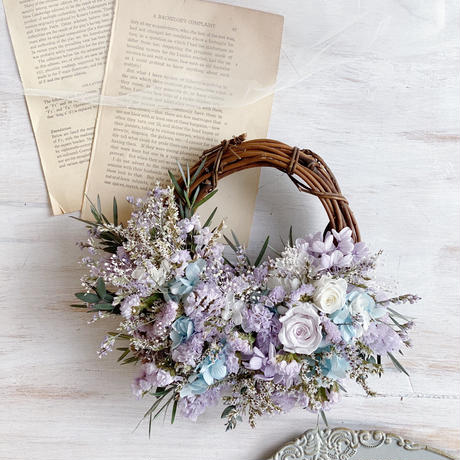 mother's day gift *half wreath*