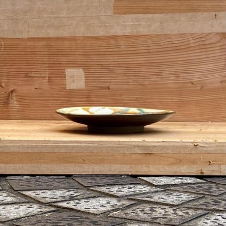 小鹿田焼 8寸平皿