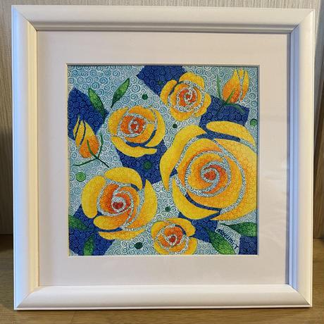 「花物語」黄色いバラ