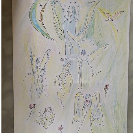 虹の妖精と天使のお茶会