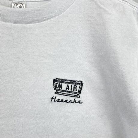 Hanaoka-ONAIRTシャツ【白】