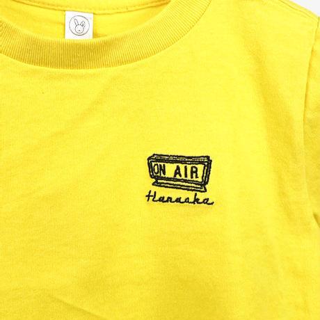 Hanaoka-ONAIRキッズTシャツ【きいろ】