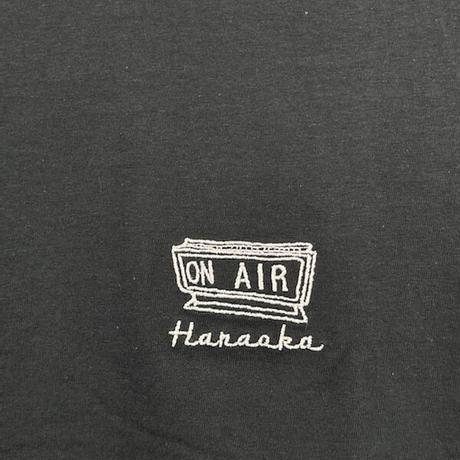 Hanaoka-ONAIRTシャツ【黒】