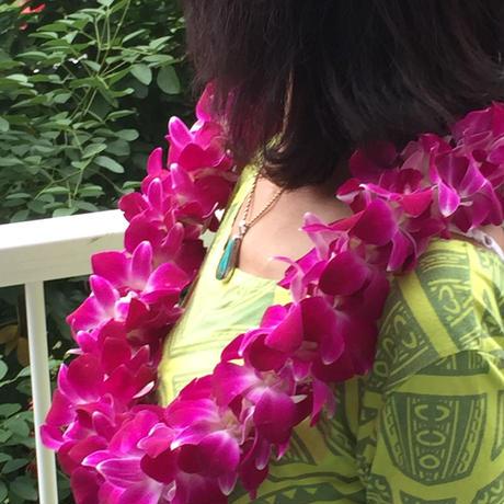 ハワイアンレイメイキングのワークショップ