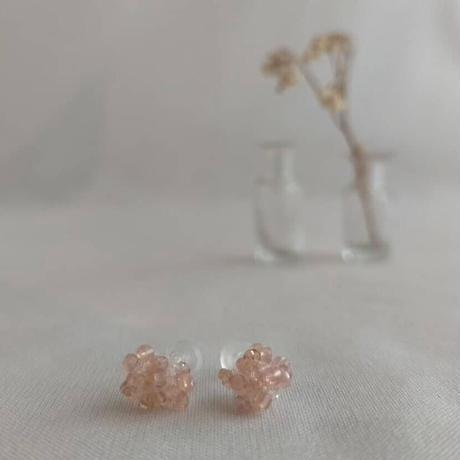 pastel colour petit pierce[pink beige]