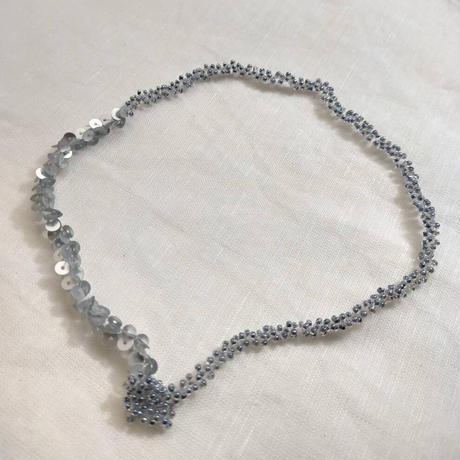 grey choker&bracelet [再販]