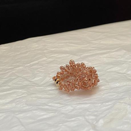 イヤーカフ wakka /  Czech beads[1piece]
