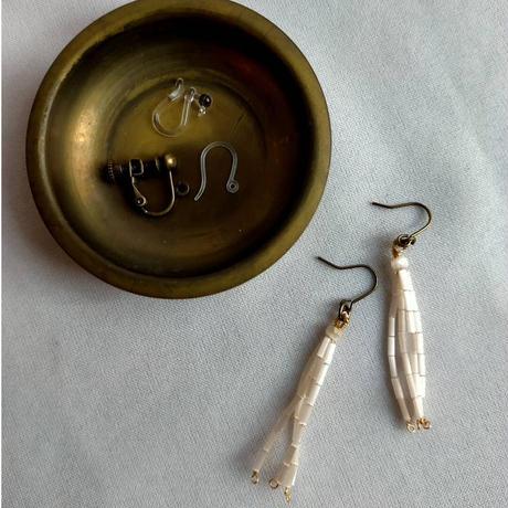 氷柱の耳飾り [France vintage]