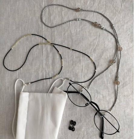 マスクコードネックレス[White]