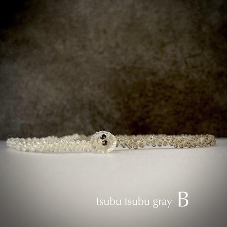 tsubutsubu gray    A or B[France vintage]