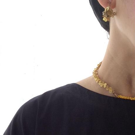 ターメリックカラーなchoker&bracelet