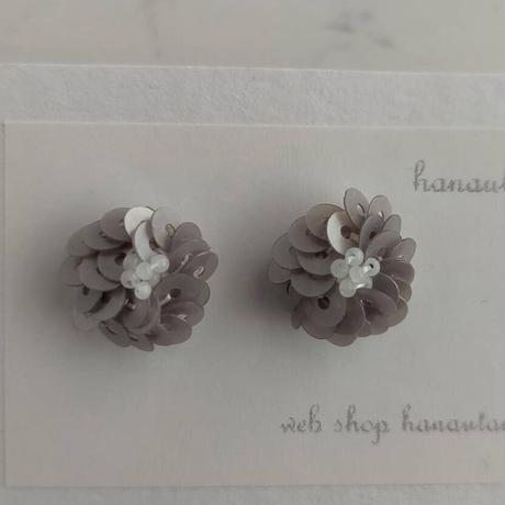 flower pierce  [フロストグレイ]
