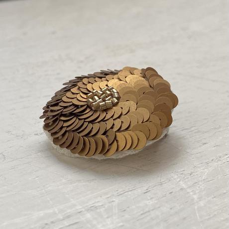 Daisy gold  brooch[1点限り/オンライン限定]